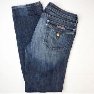HUDSON Collin flap bootleg jeans sz 29